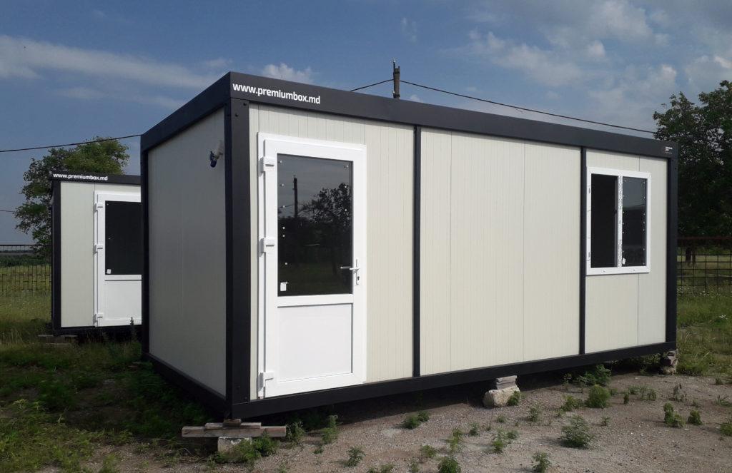 Container modular din structura metalica
